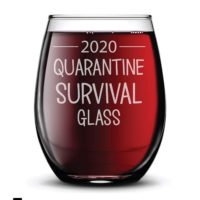 Quarantine Wine Glass