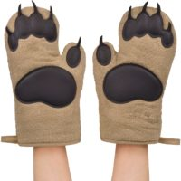 Bear Funny Oven Mitts